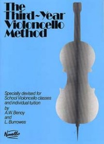 BENOY A.W./BURROWES L. THE THIRD-YEAR VIOLONCELLO METHOD