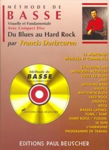 DARIZCUREN F. METHODE DE BASSE DU BLUES AU HARD ROCK