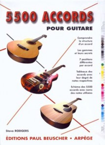 5500 ACCORDS GUITARE