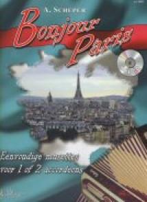 SCHEPER BONJOUR PARIS ACCORDEON