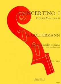GOLTERMANN G. CONCERTINO N°1 OP 14 VIOLONCELLE