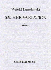 LUTOSLAWSKI W. SACHER VARIATION VIOLONCELLE SOLO