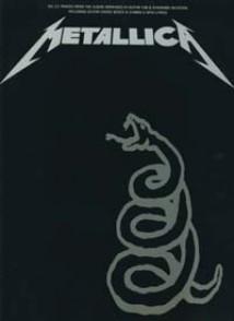 METALLICA BLACK BOOK GUITARE