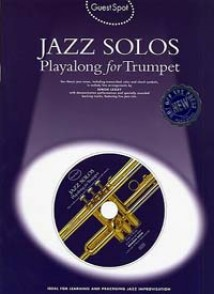 GUEST SPOT JAZZ SOLOS PLAYALONG TRUMPET