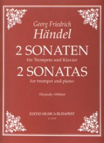 HAENDEL G.F. 2 SONATES TROMPETTE
