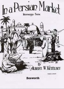 KETELBEY A.W. SUR UN MARCHE PERSAN VIOLON