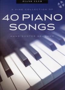 HEUMANN H.G. PIANO CLUB 40 PIANO SONGS