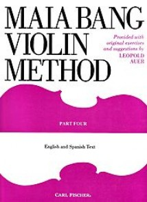 MAIA BANG VIOLIN METHOD VOL 4