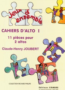 JOUBERT C.H. CAHIERS D'ALTO I ALTOS