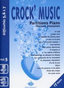 CROCK MUSIC VOL 5 PIANO