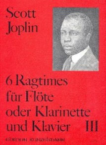JOPLIN S. 6 RAGTIMES VOL 3 FLUTE/CLARINETTE/BASSON