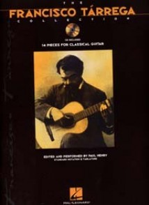 TARREGA F. THE FRANCISCO TARREGA COLLECTION GUITARE TABLATURE + CD