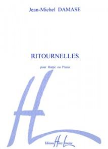 DAMASE J.M. RITOURNELLES HARPE OU PIANO
