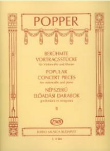 POPPER D. POPULAR CONCERT PIECES VOL 2 VIOLONCELLE