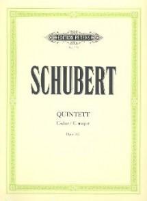 SCHUBERT F. QUINTETT C DUR OP 163 ENS. CORDES