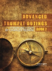 RESKINC. ADVANCED TRUMPET OUTINGS BOOK 2