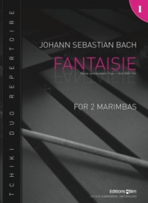 BACH J.S. FANTAISIE BWV 906 MARIMBAS
