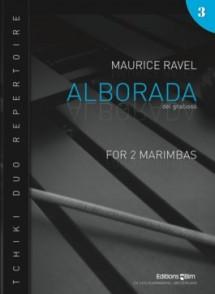 RAVEL M. ALBORADA DEL GRACIOSO MARIMBAS