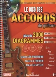 GUILLEMINOT P. LE DICO DES ACCORDS GUITARE