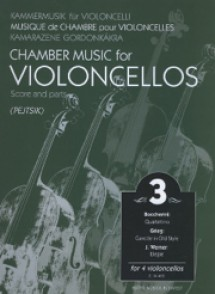 PEJTSIK A. CHAMBER MUSIC VOL 3 FOR VIOLONCELLOS