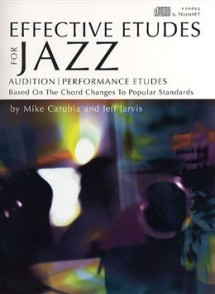 CARUBIA/JARVIS EFFECTIVE ETUDES JAZZ FOR TRUMPET
