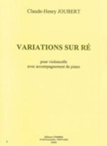 JOUBERT C.H. VARIATIONS SUR RE VIOLONCELLE