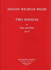 WILMS J.W. SONATAS OP 18 FLUTE