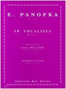 PANOFKA H. VOCALISES TROMBONE