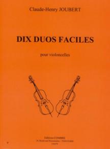 JOUBERT C.H. DUOS FACILES VIOLONCELLES