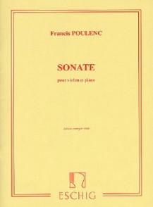 POULENC F. SONATE VIOLON