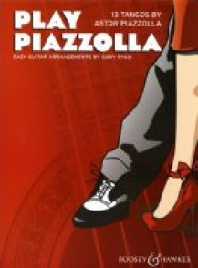 PIAZZOLLA A. PLAY EASY GUITARE