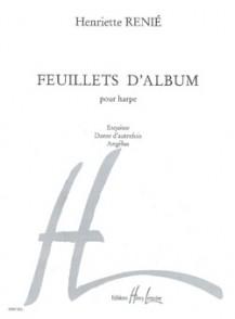 RENIE H. FEUILLLETS D'ALBUM HARPE