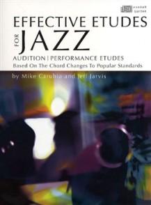 CARUBIAN/JARVIS EFFECTIVE ETUDES FOR JAZZ GUITAR