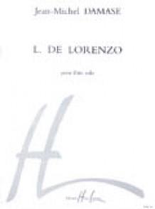 DAMASE J.M. L.DE LORENZO FLUTE