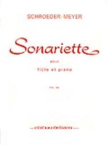 SCHROEDER-MEYER H. SONARIETTE FLUTE