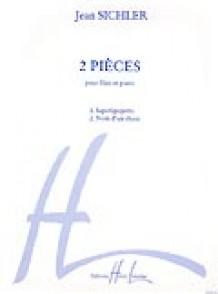 SICHLER J. 2 PIECES FLUTE