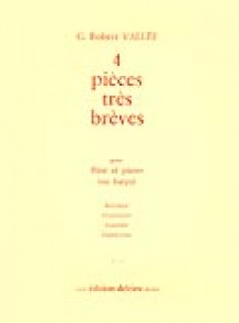 VALLEE G.R. 4 PIECES TRES BREVES FLUTE