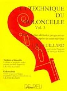 FEUILLARD L.R. TECHNIQUE DU VIOLONCELLE VOL 3