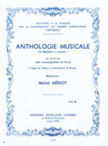 MERIOT M. ANTHOLOGIE MUSICALE A CHANTER VOL 3