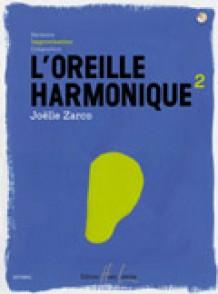 ZARCO J. L'OREILLE HARMONIQUE VOL 2 IMPROVISATION