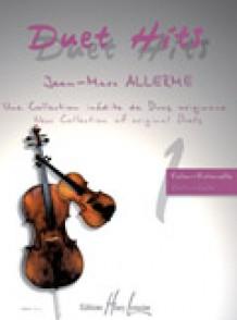 ALLERME J.M. DUET HITS VIOLON VIOLONCELLE PIANO