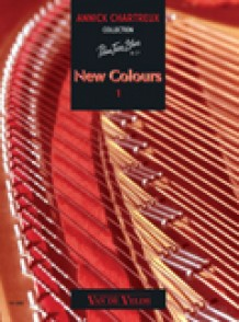 CHARTREUX A. NEW COLOURS 1 PIANO
