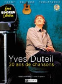 DUTEIL Y. 30 ANS DE CHANSONS GUITARE