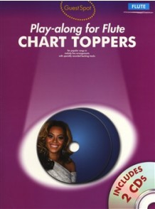 GUEST SPOT CHART TOPPERS PLAY-ALONG FOR FLUTE