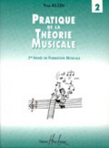 KLEIN Y. PRATIQUE DE LA THEORIE MUSICALE VOL 2