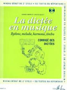 CHEPELOV P./MENUT B. LA DICTEE EN MUSIQUE VOL 4: CORRIGE
