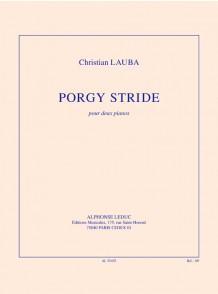 LAUBA C. PORGY STRIDE 2 PIANOS