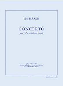 HAKIM N. CONCERTO VIOLON
