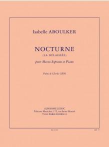 ABOULKER I. NOCTURNE LA DELAISSEE VOIX