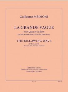 MEDIONI G. LA GRANDE VAGUE FLUTES
